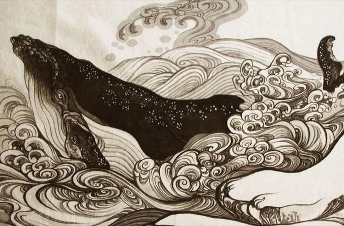 鯨大風呂敷