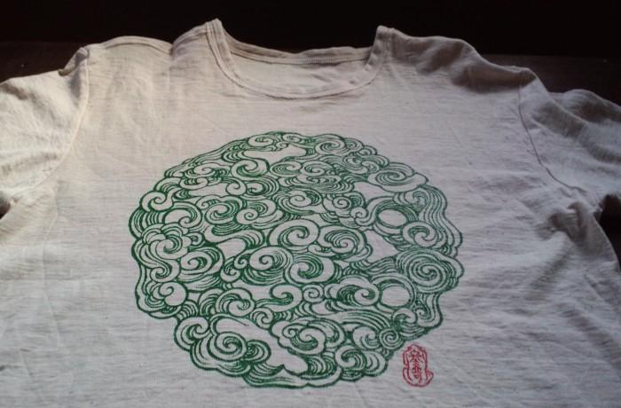 GreenPowerTシャツ「緑波玉」