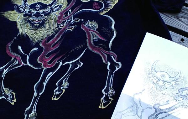 日本の霊獣「白沢」
